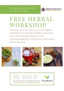 Herbal workshop poster small